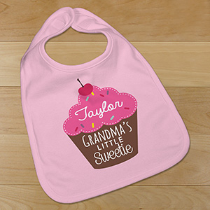Personalized Little Sweetie Bib