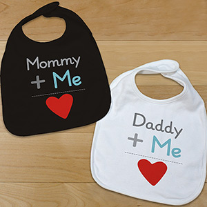 Personalized Plus Me Infant Bib