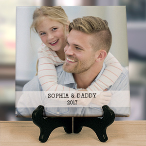 Personalized Dad Tabletop Photo Canvas 911037713