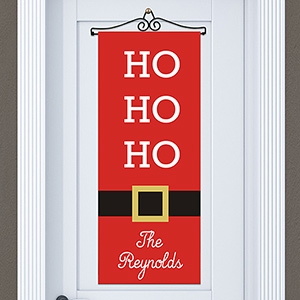 Personalized Santa Door Banner | Personalized Christmas Decorations