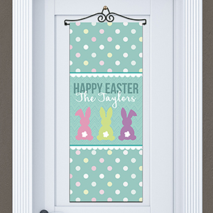 Personalized Bunny Tails Door Banner 911114915