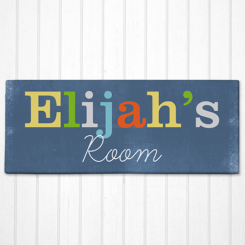 Personalized Kids Room Canvas | Personalized Wall Decor For Kids