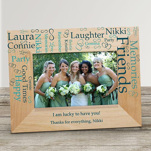 Wedding Word-Art Frame | Wedding Party Frame