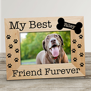 Personalized My Best Friend Frame | Pet Picture Frames