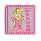 Personalized Princess Canvas Wall Art