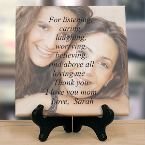 Personalized Thank You Photo Canvas | Gifts For Mom From Daughter