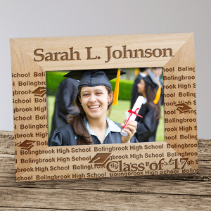 My Graduation Personalized Wooden Picture Frame