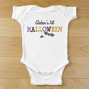 Personalized First Halloween Infant Creeper