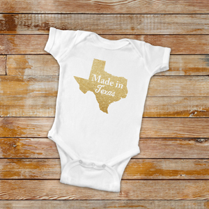 Personalized Made In Infant Creeper