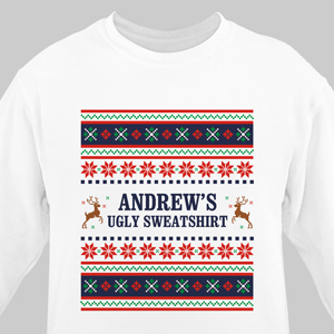 Personalized Ugly Sweater Adult Sweatshirt 510811X