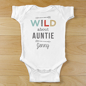 Wild About Personalized Baby Clothes | Personalized Baby Onesie