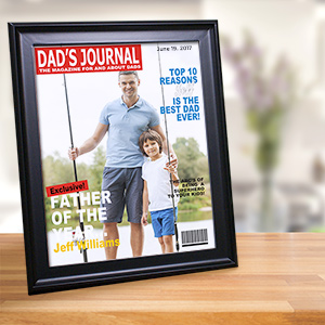 Dad's Journal Magazine Cover Frame 934925