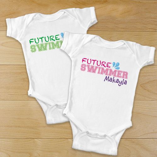 Personalized Future Athlete Infant Apparel | Personalized Baby Gifts