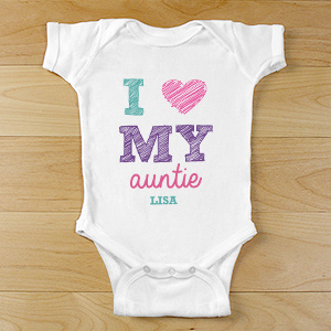 I Love My Personalized Baby Clothes | Personalized Baby Gifts