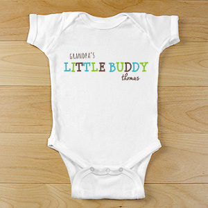 Personalized Little Buddy Infant Clothes | Customized Baby Gifts