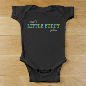Personalized Little Buddy Infant Bodysuit | Customized Baby Gifts