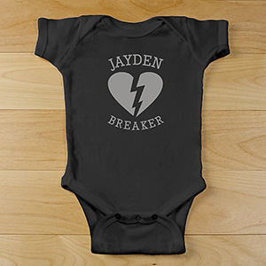 Heartbreaker Personalized Bodysuit | Valentines Day Gifts For Kids