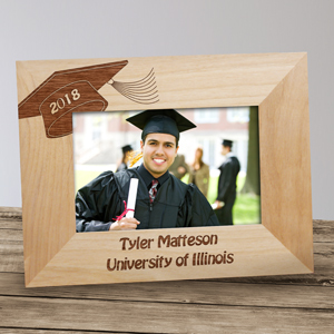 Graduation Engraved Frame | Personalized Graduation Gifts