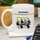 Meetings Ceramic Mug