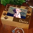 Abernook Engraved Pet Keepsake Box