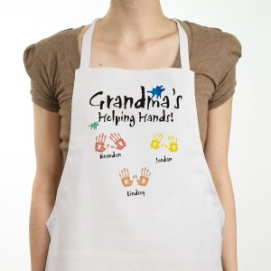 Helping Hands Personalized Apron | Personalized Aprons