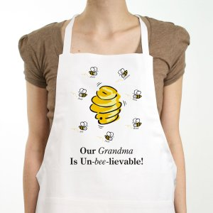 Un-Bee-Lievable Personalized Apron