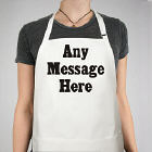 Standard Message Personalized Apron