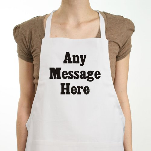 Standard Message Personalized Apron | Personalized Aprons