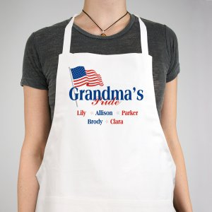 USA American Pride Personalized Apron | Personalized Aprons