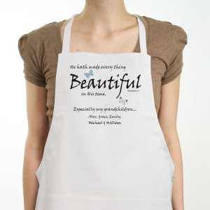 Made Everything Beautiful Personalized Apron