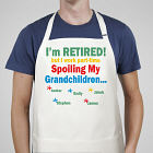 I'm Retired...Spoiling My Grandkids Personalized Apron