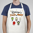 Tricks and Treats Character Personalized Apron