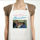 Our Hearts Personalized Photo Apron