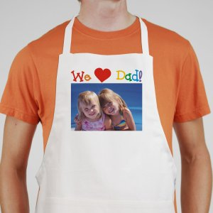 Colorful Personalized Photo Apron