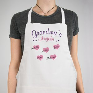 Angels Of My Heart Personalized Apron