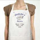 Floating on A Cloud Personalized Angels Apron