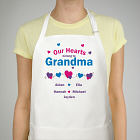 Our Hearts Personalized Apron