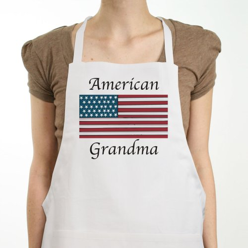 American Flag Personalized Apron