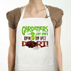 Gardners Know The Best Dirt Personalized Apron