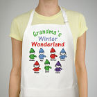 Winter Wonderland Personalized Apron
