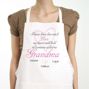 How Much Love Personalized Apron