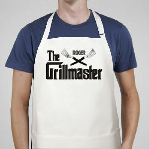 Grillmaster Personalized BBQ Apron