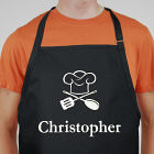 Embroidered Chef Apron