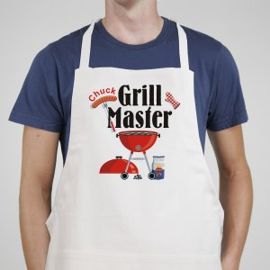 Grill Master Personalized Apron | Personalized Aprons