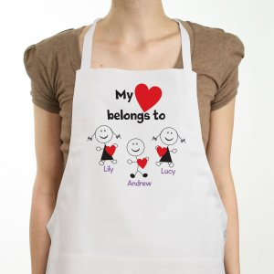 Personalized Belongs To Heart Apron