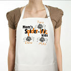Personalized Halloween Spider Apron