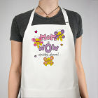 Mom is Wow Personalized Apron
