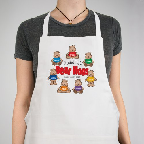 Bear Hugs Personalized Apron