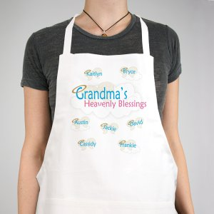 Personalized Heavenly Blessings Apron