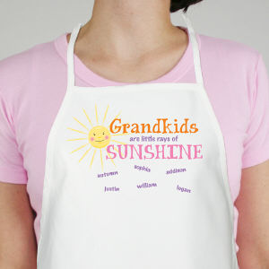 Personalized Little Rays of Sunshine Apron